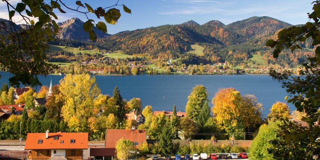 Oberbayerische Seen-Tour: Geführte Wanderreise in der Region Tegernsee-Schliersee