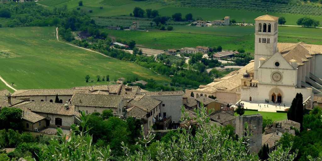 "Wandern in Umbrien, Assisi auf der ""Via Francescana"""