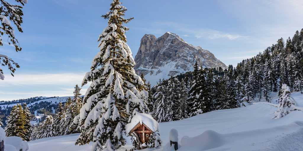 Winterwandern in Südtirol - Lüsnertal
