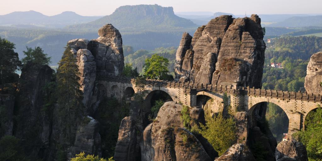 Wandern auf dem Malerweg im Elbsandsteingebirge - Sächsische Schweiz