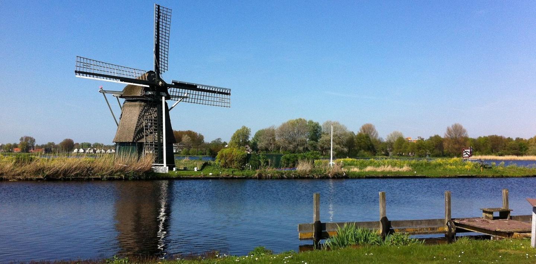 Wandern in den Niederlanden - Windmühlen, Wasser, Wanderwege
