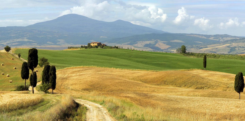 Wandern in der Toskana - Landschaft wie aus dem Bilderbuch