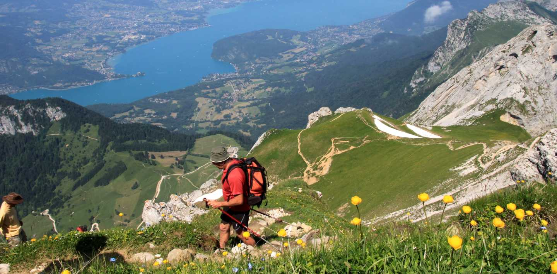 Wandern den Rhône-Alpes - Wanderurlaub individuell oder in der Gruppe