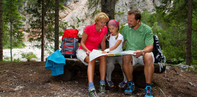 Wandern mit Familie