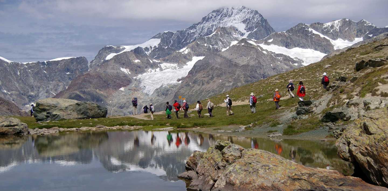 Wandern auf der Via Alpina