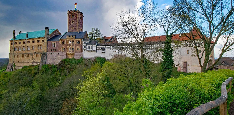 Wandern auf dem Rennsteig in 8 Tagen: durch den Thüringer Wald