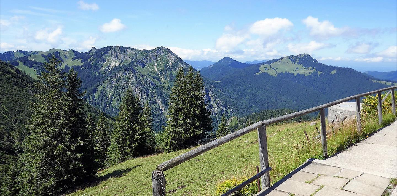 Familienwanderung in Bayern - zwischen Tegernsee und Wendelstein