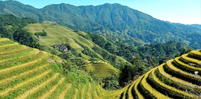Wandern in Südchina - Reisterrassen und verzauberte Berge