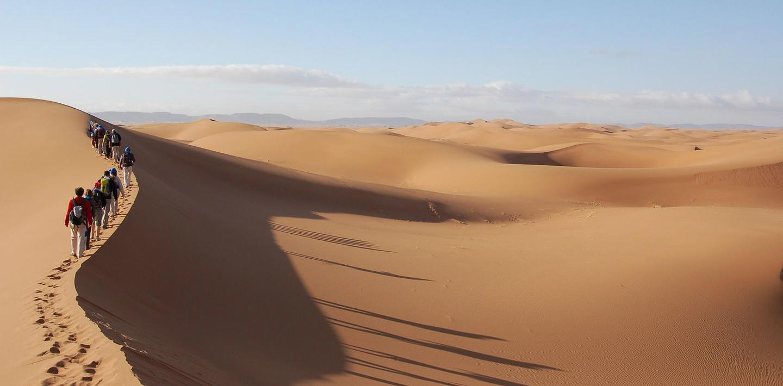 Wandern in Marokko: Karawanen, Kasbahs & Saharaträume