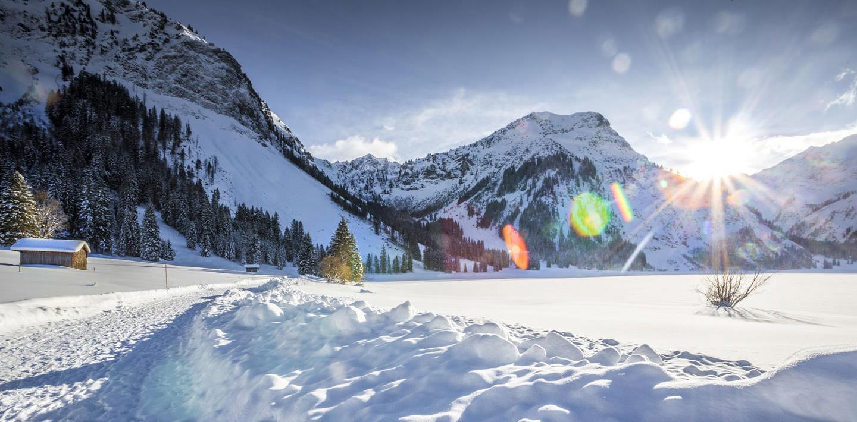 Auf Schneeschuhen durchs Hochallgäu wandern