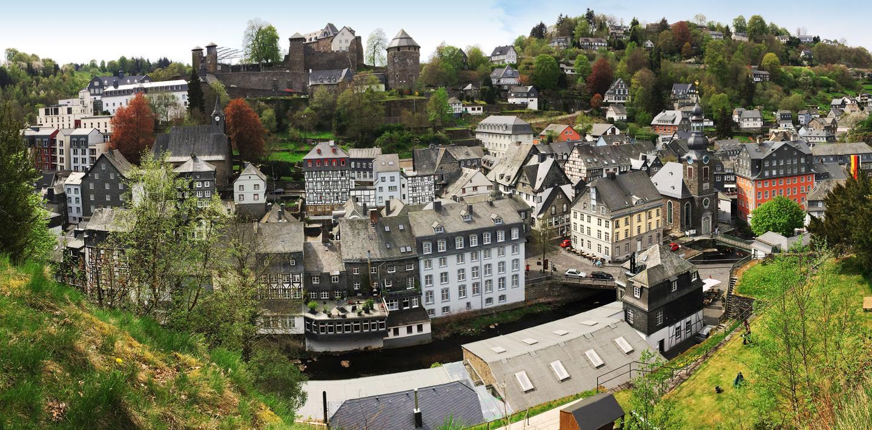 Wandern auf dem Eifelsteig von Aachen nach Kloster Steinfeld