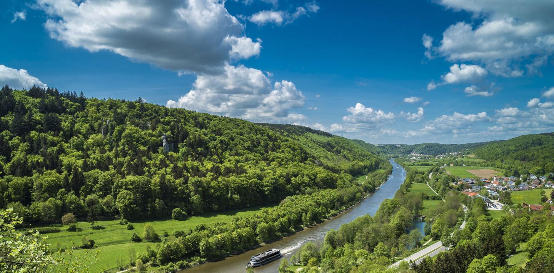 Wandern auf dem Jurasteig rund um Kehlheim an der Donau
