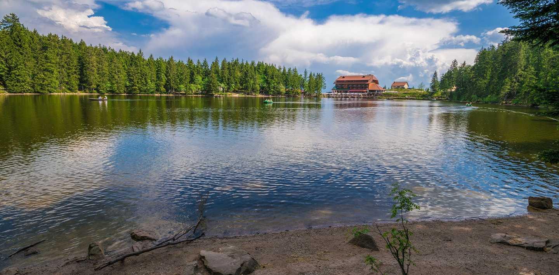 Wandern auf dem Seensteig im Schwarzwald