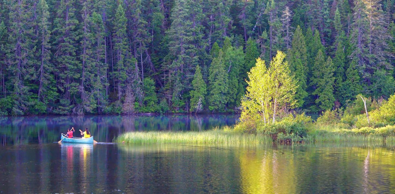 Geführte Gruppenwanderreise Kanada - Rockies & Kanue - Hotel / Camping Mix