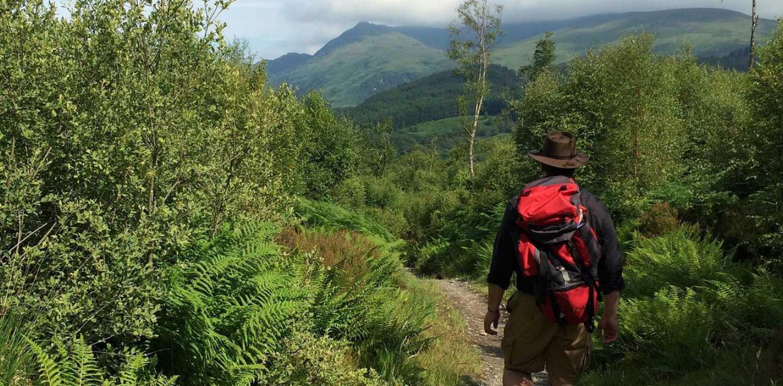 Wandern auf dem West-Highlands-Way - zu Fuß unterwegs in Schottland