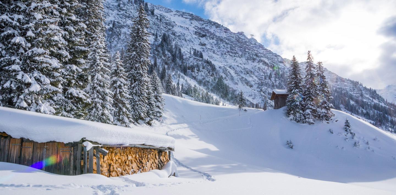 Österreich - Tirol: Geführte Gruppenwanderung - Winterwandern im Lechtal