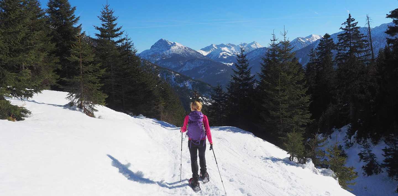 Schneeschuhwandern im Lechtal - im Winter individuell wandern