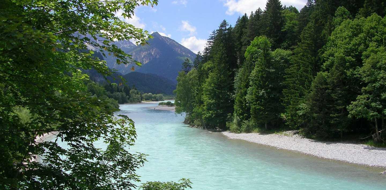 Wandern auf dem Lechweg - Von Voralberg nach Füssen im Allgäu