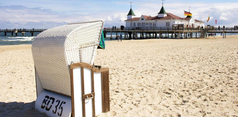 Wandern auf der Sonneninsel Usedom - Kaiserbäder und Ostseestrand