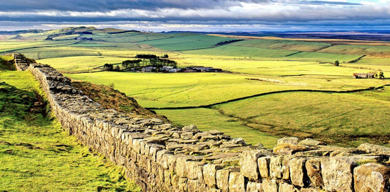 Wandern auf dem Hadrianswall - England