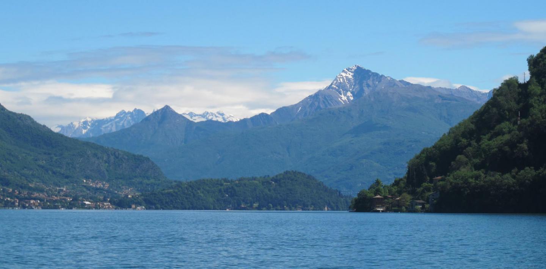 Comer & Luganer See: Individuell wandern von Italien in die Schweiz ohne Gepäck