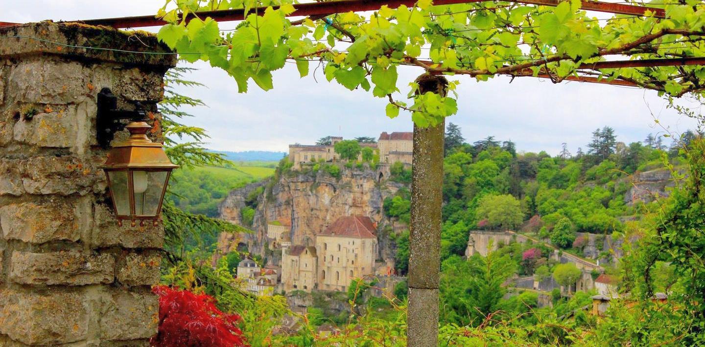 Wandern in Frankreich: Quercy, Dordognetal