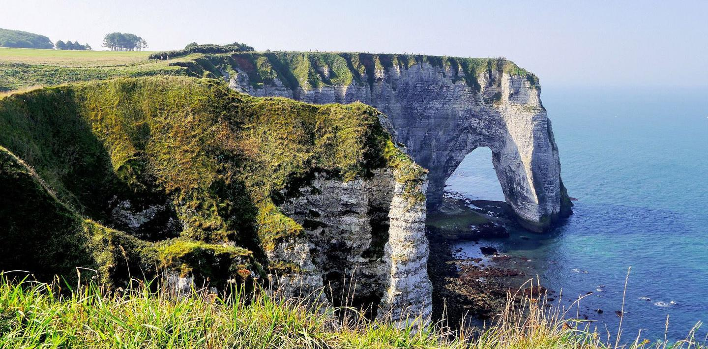 Wandern in der Normandie - entlang der Alabasterküste