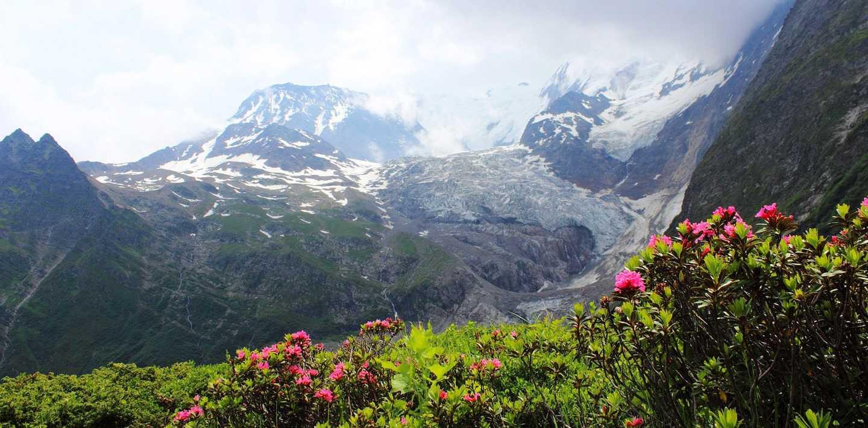 Wandern am Mont Blanc