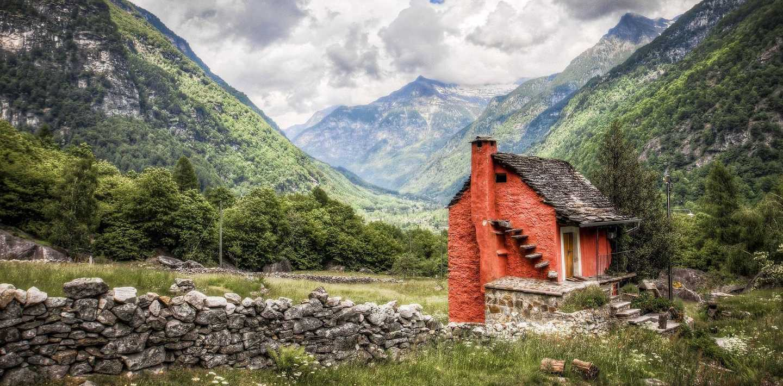 Wandern im Tessin - Schweiz
