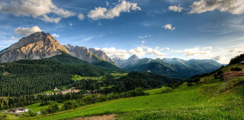 Wandern in der Schweiz - Engadiner Höhenweg