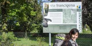 Wandern auf der Via Francigena