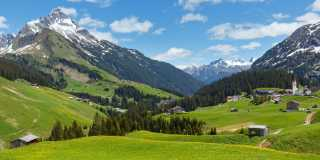 Wandern in Voralberg: Zwischen Bodensee und Gletschern wandern
