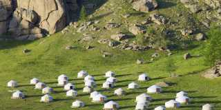 Wandern in der Mongolei