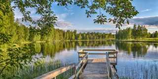Wandern in Finnland - auf der Bärenroute durch idyllische Natur