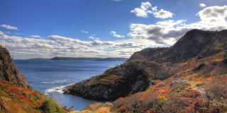 East Coast Trail in Neufundland