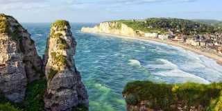 Wandern in der Normandie