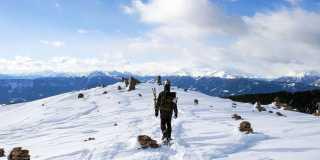 Winterwandern und Schneeschuhwandern in Österreich
