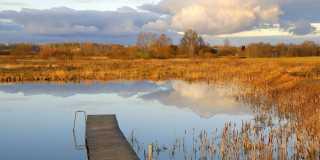 Wandern ohne Gepäck in Lettland