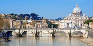Latium: Individuell wandern auf der Via Francigena nach Rom ohne Gepäck