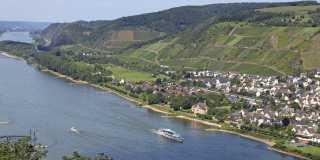 Rheinsteig: Individuell wandern von Rüdesheim nach Koblenz