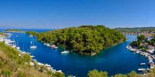 Ionische Inseln: Individuelle wandern auf Korfu und Paxos