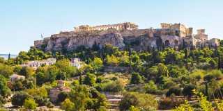 wandern in Athen