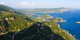Auf dem Korfu-Trail quer über die Insel wandern