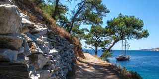 Thassos: Geführte Wanderung - Wanderparadies im Norden Griechenlands