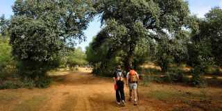 Pilgerwandern auf der Silberstraße - der Via de la Plata von Sevilla - Cáceres