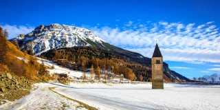 Winterwandern: Auf alten Waal- und Panoramawegen