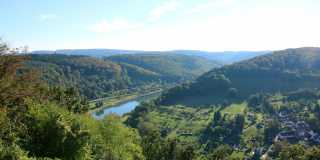 Neckarsteig: Geführte Wanderung zwischen Fluss- und Burgenromantik
