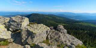Wandern auf dem Goldsteig vom Großen Arber nach Mauth