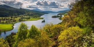 Schottland: Geführte Wanderung mit Übernachtung im Schlosshotel