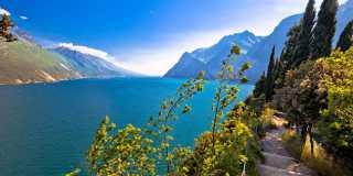 Alpenüberquerung Via Alpina Cultura Süd zum Gardasee - geführte Bergwanderung